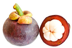Frutta del mangostano Immagine Stock