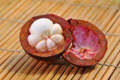 Frutta del mangostano Fotografie Stock Libere da Diritti