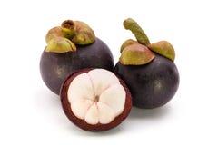 Frutta del mangostano immagini stock libere da diritti