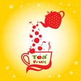 Frutta del tè Fotografia Stock Libera da Diritti