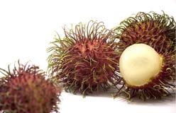 Frutta deliziosa dolce del Rambutan Fotografie Stock