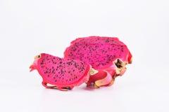 Frutta dell'Asia - ftuit del drago con il taglio Immagine Stock