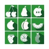 Frutta dell'icona Fotografia Stock