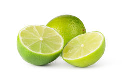 Frutta della calce Fotografie Stock Libere da Diritti