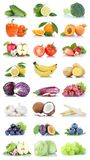 Frutta della frutta e limone Oran della mela della raccolta delle verdure Immagini Stock Libere da Diritti