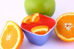 Frutta della gelatina Immagini Stock