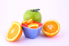 Frutta della gelatina Fotografie Stock Libere da Diritti