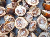 Frutta della palma di betel Immagini Stock