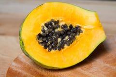 Frutta della papaia Fotografia Stock