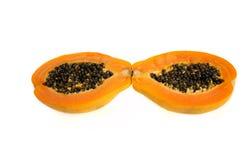 Frutta della papaia Immagini Stock Libere da Diritti