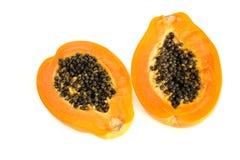 Frutta della papaia Fotografie Stock Libere da Diritti