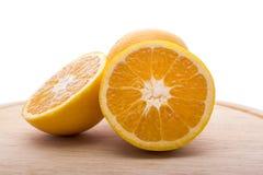 Frutta delle arance Fotografie Stock