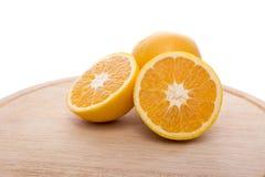 Frutta delle arance Immagini Stock Libere da Diritti