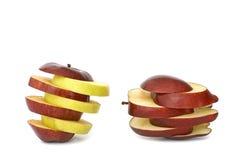 Frutta di Aplle Fotografie Stock