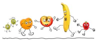 Frutta di Bioligian, comica Fotografie Stock
