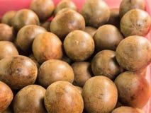 Frutta di erbe cinese di Grosvenorii Fotografia Stock Libera da Diritti