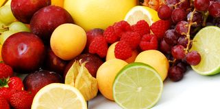 Frutta di estate Immagine Stock Libera da Diritti