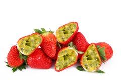 Frutta di fragola-passione della frutta di Ibrid Immagini Stock Libere da Diritti