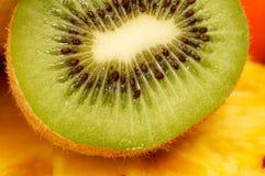 Frutta di Kiwi affettata Fotografia Stock Libera da Diritti