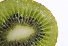 Frutta di kiwi del primo piano Fotografie Stock Libere da Diritti