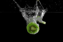 Frutta di Kiwi fresca Fotografia Stock