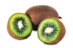 Frutta di kiwi fresca della parte Fotografie Stock Libere da Diritti