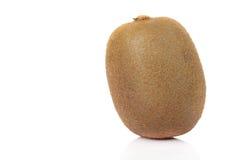 Frutta di Kiwi isolata su priorità bassa bianca Fotografia Stock