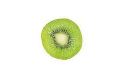 Frutta di Kiwi isolata su una priorità bassa bianca Immagine Stock