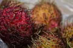 Frutta di Lichi Immagine Stock