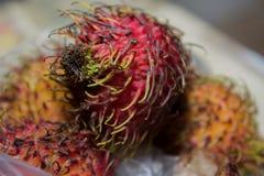 Frutta di Lichi Immagini Stock