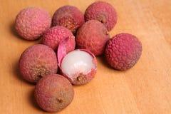 Frutta di Lychee Fotografia Stock
