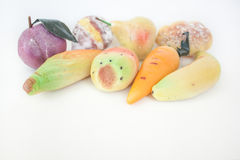 Frutta Di Martorana Royalty-vrije Stock Fotografie