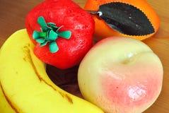 Frutta di marzapane Fotografie Stock