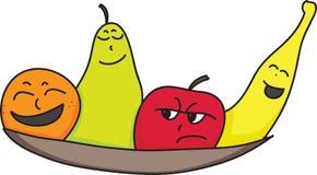 Frutta di personalità Fotografia Stock