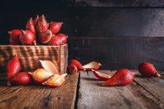Frutta di Salak Immagini Stock Libere da Diritti