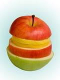 Frutta di segmento Immagini Stock
