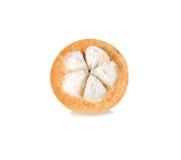 Frutta di Sentul isolata su fondo bianco Fotografia Stock Libera da Diritti