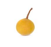 Frutta di Sentul su fondo bianco Fotografia Stock