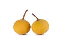 Frutta di Sentul su fondo bianco Immagine Stock