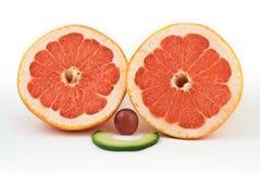 Frutta di sorriso Immagini Stock