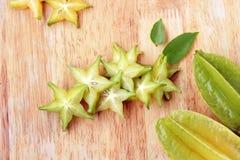 Frutta di stella Fotografia Stock