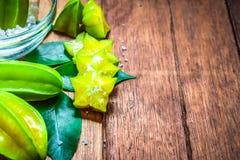 Frutta di stella o Carambola Fotografia Stock