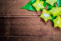 Frutta di stella o Carambola Fotografia Stock Libera da Diritti