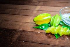 Frutta di stella o Carambola Immagini Stock