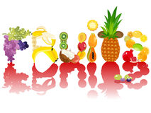 Frutta di vettore Illustrazione Vettoriale