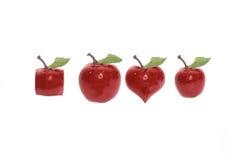 Frutta dispari con il percorso di residuo della potatura meccanica Fotografia Stock Libera da Diritti
