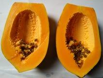 Frutta dolce della papaia della Sri Lanka Immagini Stock