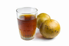 Frutta dolce usata come erba medicinale fotografie stock