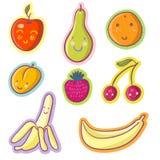 Frutta e bacche saporite Fotografia Stock Libera da Diritti