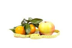 Frutta e dieta Fotografie Stock
